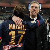 Laurent Blanc et Maxwell