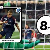 Les notes de PSG-Monaco : Mbappé au-dessus du lot, Falcao impuissant