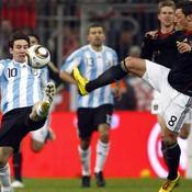 Allemagne-Argentine Mesut Ozil Lionel Messi