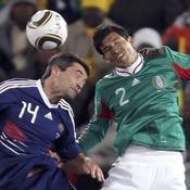 France - Mexique Coupe du Monde 2010 Jérémy Toulalan Francisco Rodriguez
