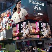 Coupe du monde féminine 2019: France-USA diffusé à Times Square