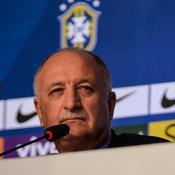 Luis Felipe Scolari, sélectionneur du Brésil