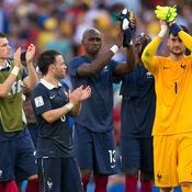 Mathieu Valbuena Hugo Lloris Equipe de France Allemagne Coupe du monde 2014