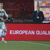 Après son but injustement refusé, Ronaldo pique une colère noire
