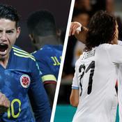 Le revenant James Rodriguez face aux redoutables buteurs Cavani et Suarez