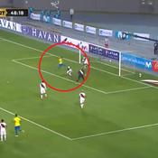 Le triplé de Neymar qui lui permet de dépasser Ronaldo