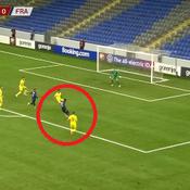 L'inspiration de Dembélé, le csc gag kazakh, le raté de Mbappé ... Les buts des Bleus face au Kazakhstan en vidéo