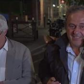 Michel Platini se déclare «serein» à sa sortie de garde à vue