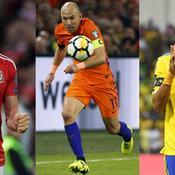 Bale, Robben, Aubameyang : l'équipe-type des «recalés» du Mondial 2018