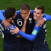 Olivier Giroud, Kylian Mbappé et Antoine Griezmann