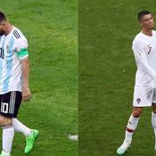 Coupe du monde 2018 : Fin du rêve Mondial pour Messi et Ronaldo