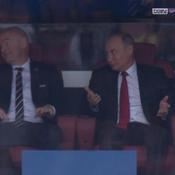 Coupe du monde 2018 : la réaction originale de Poutine après l'ouverture du score de la Russie