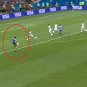 Coupe du monde 2018 : Le doublé salvateur de Cavani en vidéo