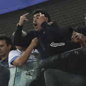 Coupe du monde 2018 : Diego Maradona, l'encombrant supporter de l'Argentine