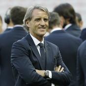 Roberto Mancini à l'Allianz Riviera