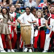 Ronaldinho aux percussions