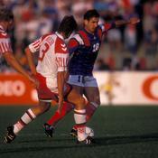 Euro 1992: La der' de Platini dans le costume de sélectionneur