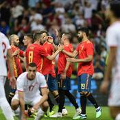 L'Espagne, laborieuse, bat une Tunisie accrocheuse