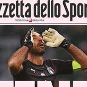 L'Italie éliminée, La Gazetta dello Sport chute en bourse