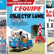 La presse française met Tintin et Astérix à l'honneur avant France-Belgique