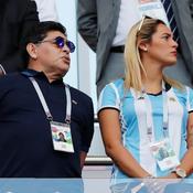 Diego Maradona présent