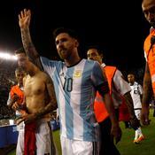 Lionel Messi a écopé de 4 matches de suspension avec l'Argentine