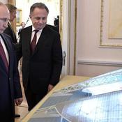 Mondial 2018 : pour Poutine, tout retard sera «inadmissible»
