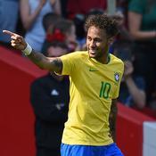 Neymar, un éclair en forme d'espoir