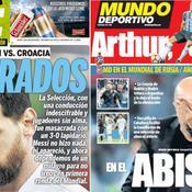 «Ridicule», «Honte», «Fiasco» : la presse mondiale allume l'Argentine