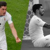 Tops/Flops Egypte-Uruguay : Giménez délivre l'Uruguay, Suarez inefficace