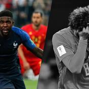 Tops/Flops France-Belgique : Umtiti forte tête, Fellaini décevant