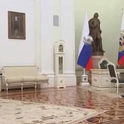 Vladimir Poutine s'offre une séance de jongles pour promouvoir le Mondial 2018