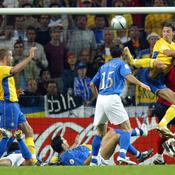 Euro 2004 : Italie-Suède (1-1)
