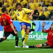 Euro 2008 : Suède-Espagne (1-2)