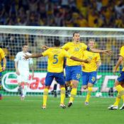 Euro 2012 : Suède-Angleterre (2-0)