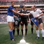 Facchetti et Seler, les deux capitaines du match du siècle