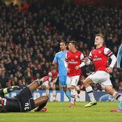 Arsenal-OM : Wilshere 2e but