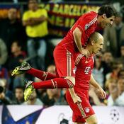 Barcelone-Bayern : But Robben
