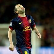 Barcelone-Bayern : Iniesta