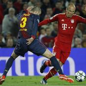 Barcelone-Bayern : Piqué