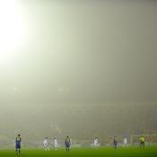 BATE-Lille : brouillard
