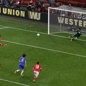 Benfica-Chelsea : Penalty Cardozo
