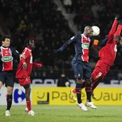 Dijon-PSG Duel aérien