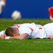 La déception de Karim Benzema