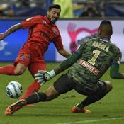 Bastia-Paris SG, Ezequiel Lavezzi face à Alphonse Areola