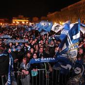 Bastia-Paris SG, Supporters de Bastia en Corse
