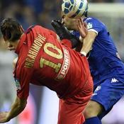 Bastia-Paris SG, Zlatan Ibrahimovic - Gilles Cioni