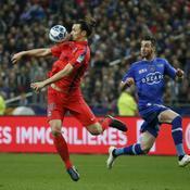 Bastia-Paris SG, Zlatan Ibrahimovic