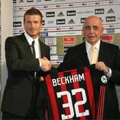 David Beckham/Adriano Galliani