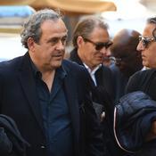 Michel Platini et Marcel Dib